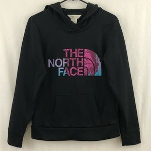 The North Face Hoodie Black Spellout Sweatshirt